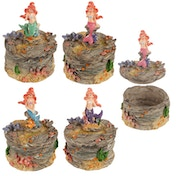 Mermaid Trinket (Pack Of 4) Jewellery Box