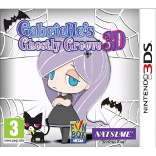 Gabrielle's Ghostly Groove 3D Game 3DS