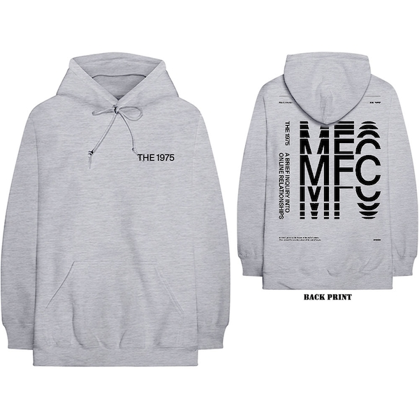 The 1975 - ABIIOR MFC Men's XXX-Large Pullover Hoodie - Grey