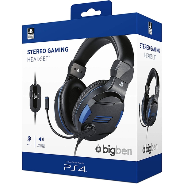 BigBen Stereo Gaming Headset for PS4
