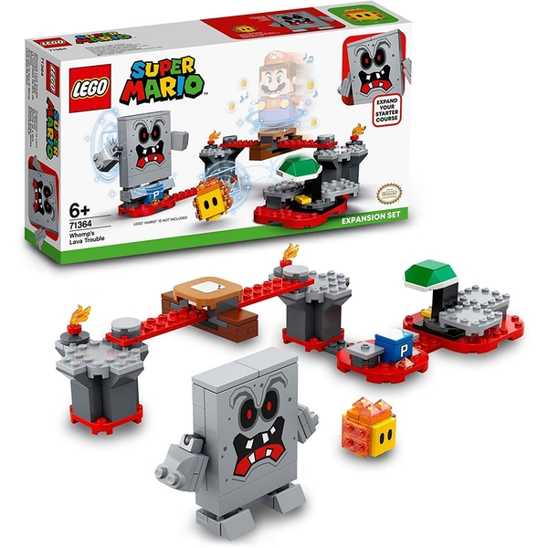 LEGO Super Mario:  Whomp's Lava Trouble - Expansion Set