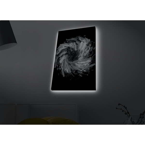 4570MDACT-075 Multicolor Decorative Led Lighted Canvas Painting