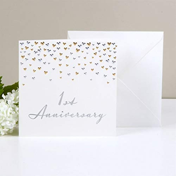 AMORE BY JULIANA? Deluxe Card - 1st Anniversary