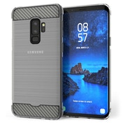 Samsung Galaxy S9 Plus Carbon Anti Fall TPU Case - Clear