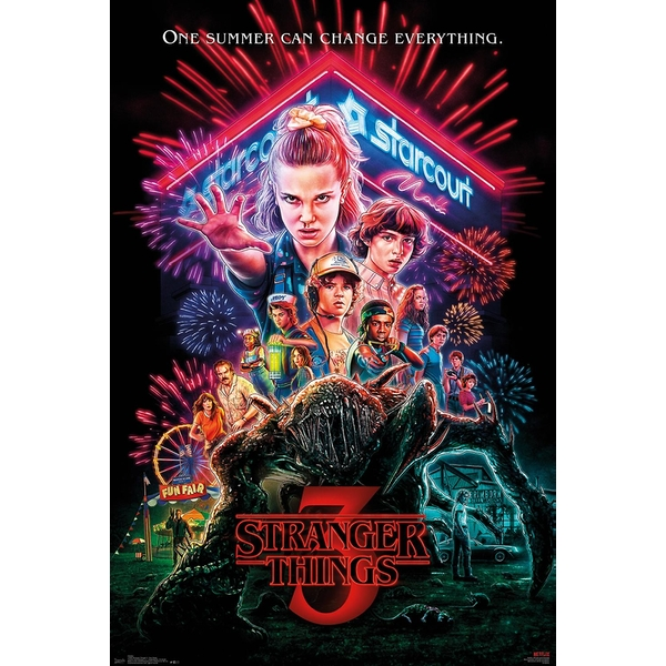 Stranger Things - Group Maxi Poster