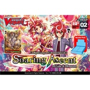 Cardfight Vanguard TCG Soaring Ascent Of Gale And Blossom G-BT02 Booster Box (30 Packs)