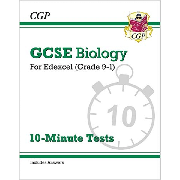 New Grade 9-1 GCSE Biology: Edexcel 10-Minute Tests (with answers)  Paperback / softback 2018