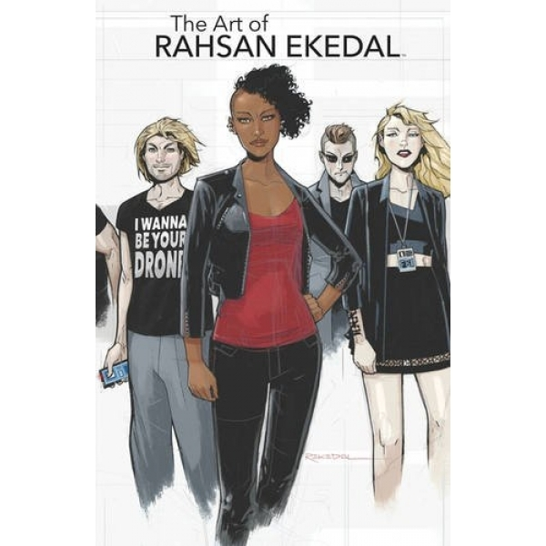 The Art Of Rahsan Ekedal Top Cow Edition Hardcover