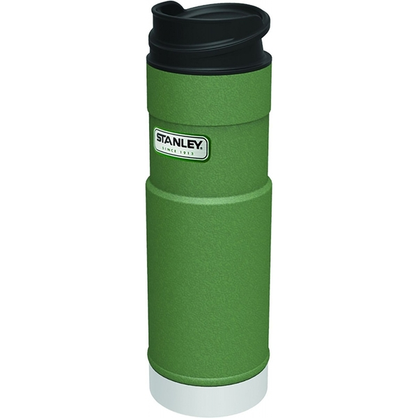 Stanley Classic One Handed Vacuum Mug, Green - 0.47L