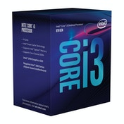 Intel Core i3-8100 Processor (6M Cache, 3.60 GHz) 3.6GHz 6MB Smart Cache Box processor