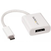 StarTech USB-C to DisplayPort Adapter - 4K 60Hz - White