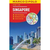 Singapore Marco Polo City Map - pocket size, easy fold, Singapore street map by Marco Polo (Paperback, 2018)
