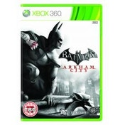 Batman Arkham City Game Xbox 360 + Batman Gotham Knight DVD