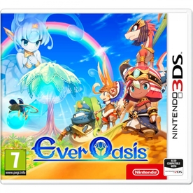 Ever Oasis 3DS Game