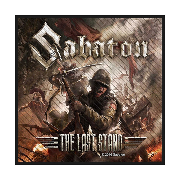 Sabaton - The Last Stand Standard Patch