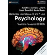 Cambridge International AS and A Level Psychology Teacher's Resource CD-ROM by Julia Russell, Lizzie Gauntlett, Jamie Davies, Fiona Lintern (CD-ROM, 2017)