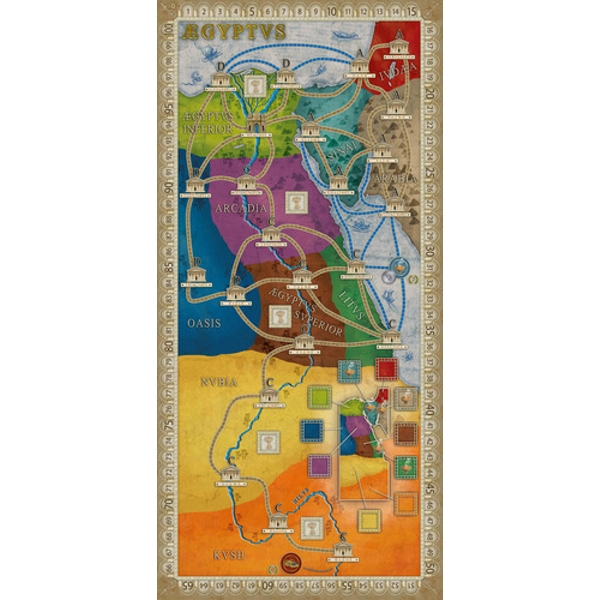 Concordia: Aegyptus/Creta Expansion Board Game