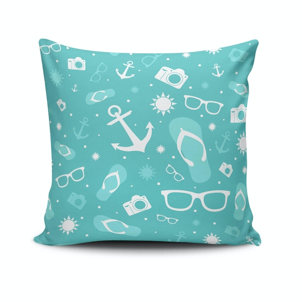 NKLF-188 Multicolor Cushion Cover