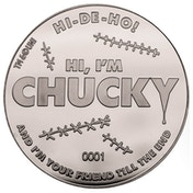 Chucky Collector's Limited Edition Coin (Silver)