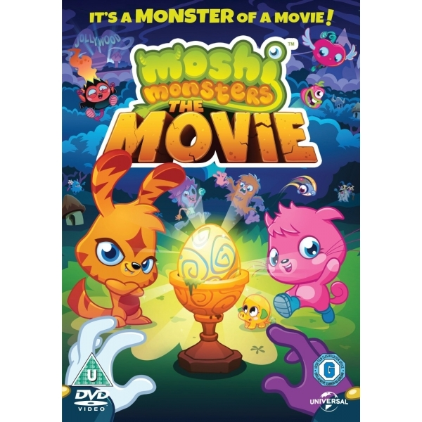 Moshi Monsters DVD
