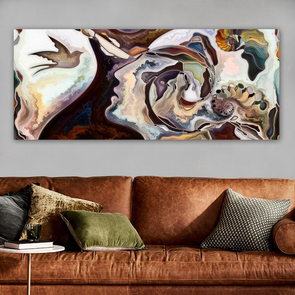 YTY1413425636_50120 Multicolor Decorative Canvas Painting