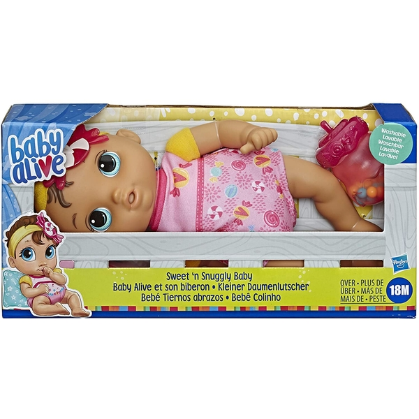 Baby Alive - Sweet & Snuggly Baby Doll