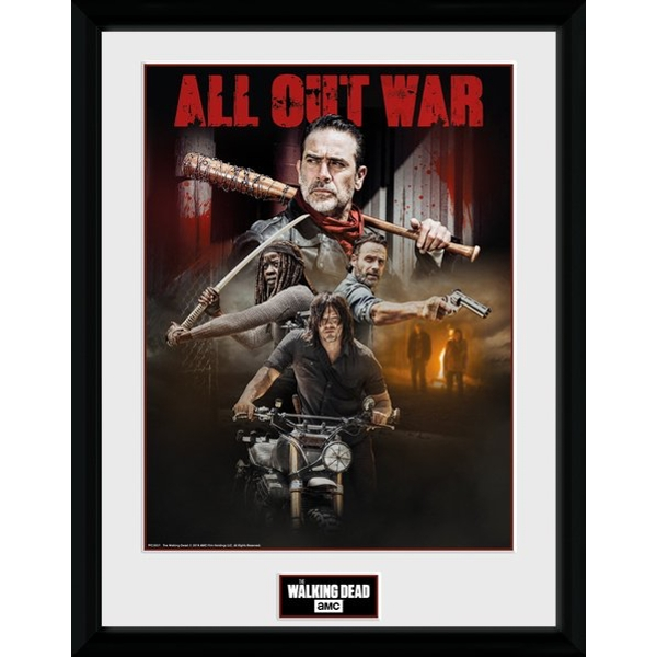 The Walking Dead Season 8 Collage Collector Print