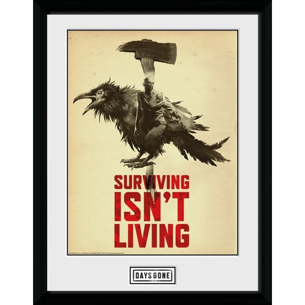 Days Gone Crow Collector Print