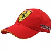 Ferrari Alonso Sign Cap