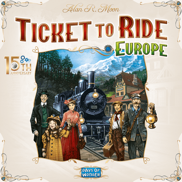 Ticket to Ride: Europe 15th Anniversary Collector's Edition Board Game