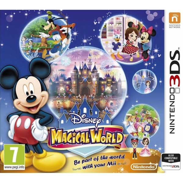 Disney Magical World 3DS Game - Image 1