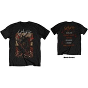 Slayer - Hellthrone 21/06/18 Iceland Event Men's X-Large T-Shirt - Black
