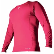 PT Base-Layer Long Sleeve Crew-Neck Shirt Small Fluo Pink