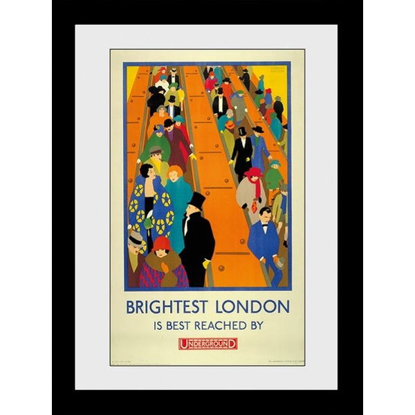 Transport For London Brightest London 60 x 80 Framed Collector Print