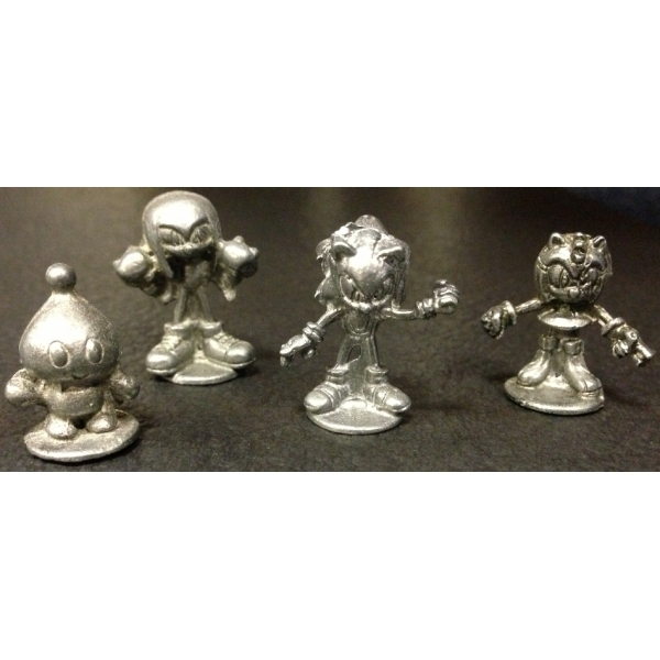 Monopoly Sonic The Hedgehog Spare Collectable Tokens
