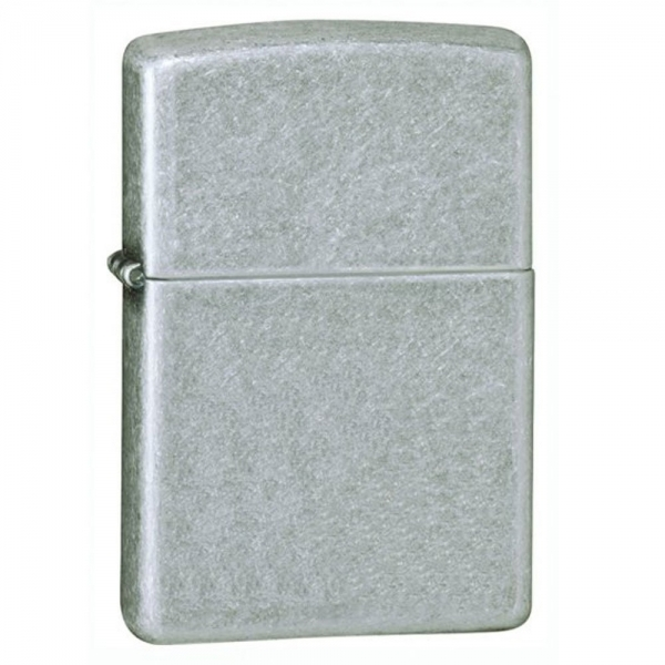 Zippo Antique Silver Plate Windproof Lighter
