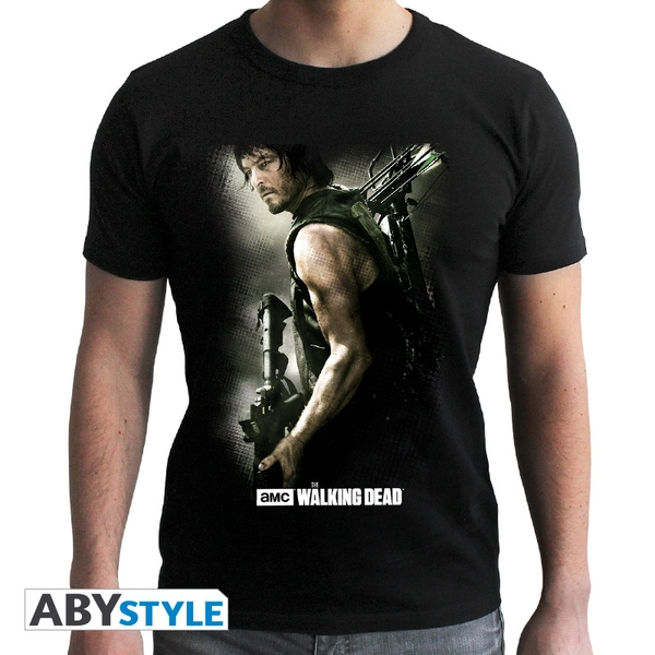 The Walking Dead - Daryl Crossbow Men's X-Large T-Shirt - Black