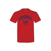 Arsenal Crest T Shirt Youths Red 9-11 Years