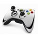 (Damaged Packaging) Official Microsoft Silver Chrome Wireless Controller Xbox 360 - Image 2