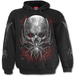 Spider Skull Men's SmallHoodie - Black - Image 2