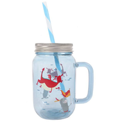 Knight Adventure Drinking Jar