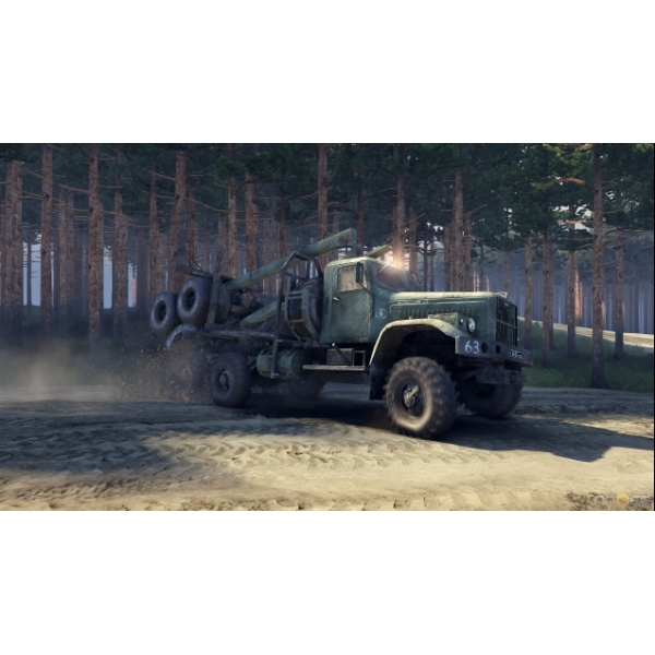 Spintires Off Road Truck Simulation PC Game - Image 3
