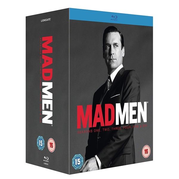 Mad Men - Seasons 1-6 Blu-ray