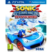 Sonic & All-Stars Racing Transformed Game PS Vita