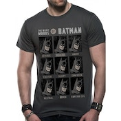 Dc Originals - Moods Of Batman Men's XX-Large T-Shirt - Grey