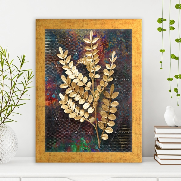 AC1574104861 Multicolor Decorative Framed MDF Painting