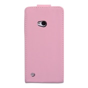 YouSave Accessories Nokia Lumia 720 Leather-Effect Flip Case - Baby Pink