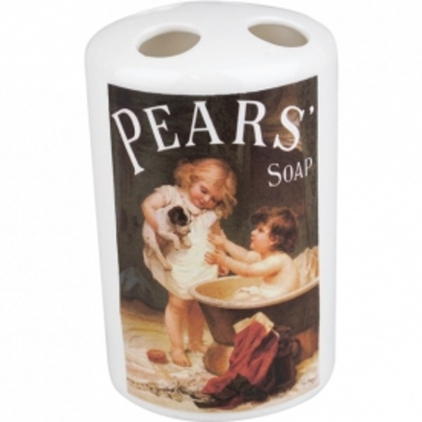 Toothbrush Holder - Pears' Soap (Dog & Child)