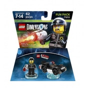 Ex-Display Bad Cop (Lego Movie) Lego Dimensions Fun Pack Used - Like New