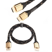 CHOSEAL HDMI 2.0V 28AWG 7.3MM GOLD-PLATED METAL FRAME 1.5M